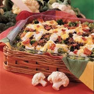 Wild Rice Floret Bake Recipe