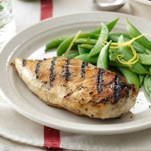 Grilled Lemon-Rosemary Chicken Recipe
