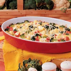 End of Summer Vegetable Bake