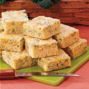 Contest-Winning Broccoli Corn Bread