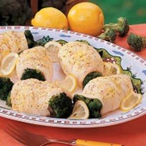 Broccoli Fish Bundles Recipe