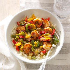 Ginger-Chutney Shrimp Stir-Fry Recipe