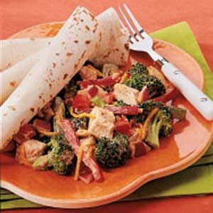 Picante Broccoli Chicken Salad Recipe