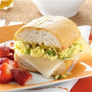 Scrambled Egg Sandwich Recipe