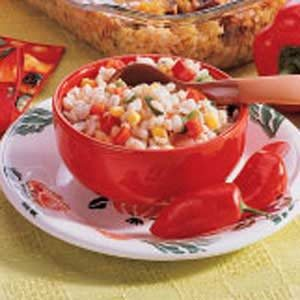Corn and Barley Relish Recipe