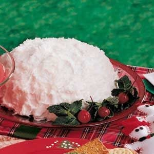 Giant Snowball Cake Recipe