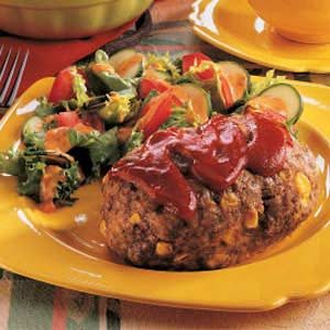 Meat Loaf for One Recipe