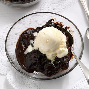 Hot Fudge Cake Recipe