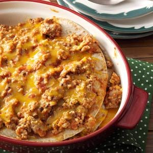 Turkey Enchilada Stack Recipe