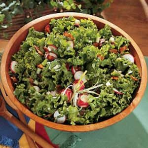 Warm Wilted Lettuce Salad Recipe