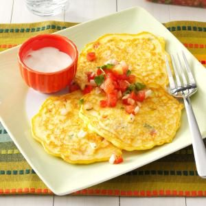 Salsa Corn Cakes Recipe