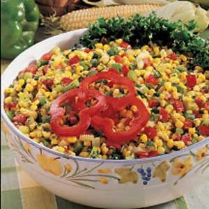 Quick Colorful Corn Salad Recipe