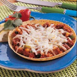 Corn Tortilla Pizzas Recipe