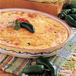 Cheesy Corn Spoon Bread Recipe