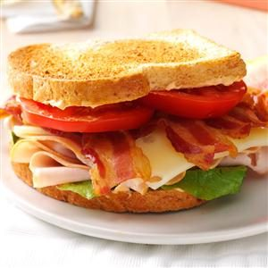 Chipotle Turkey Club Sandwich