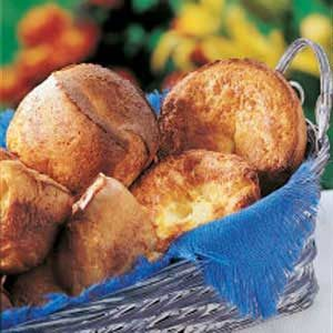 Grandma's Popovers Recipe