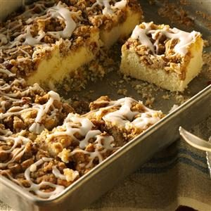 Caramel Nut Breakfast Cake Recipe