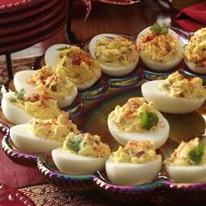 Deviled Eggs with Bacon Recipe