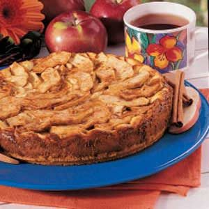 Bavarian Apple Torte Recipe