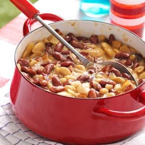 Triple Bean Bake with Bacon Recipe