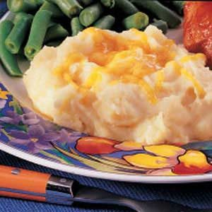 Cheesy Potato Puff Recipe