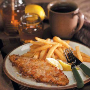 Honey-Fried Walleye Recipe