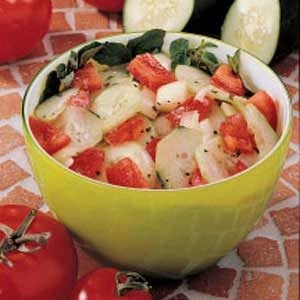Tangy Cucumber Salad Recipe