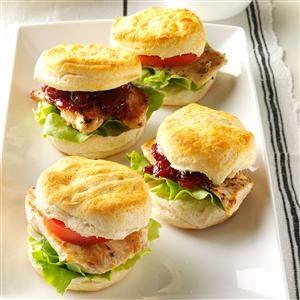 Mini Chicken & Biscuit Sandwiches Recipe