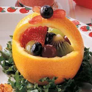 Orange Fruit Baskets Recipe