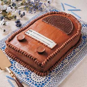 Antique Radio Cake Recipe