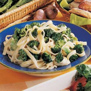 Broccoli Fettuccine Alfredo Recipe