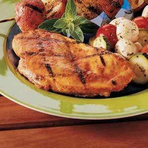 Curry Grilled Chicken Recipe