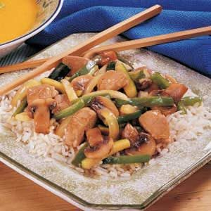Garden Pork Stir-Fry Recipe