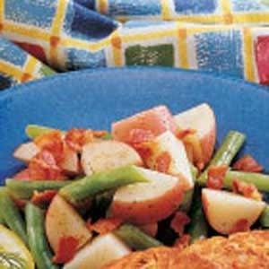 Potato Green Bean Medley Recipe