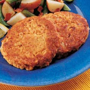 Speedy Salmon Patties Recipe