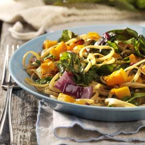 Roasted Butternut Linguine Recipe
