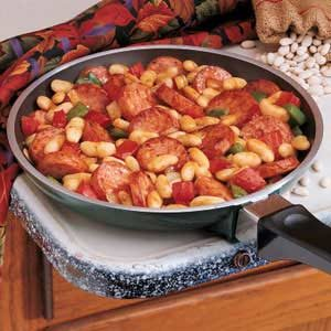 Kielbasa and Kidney Beans