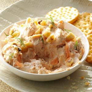 Smoked Salmon Cheese Spread Recipe