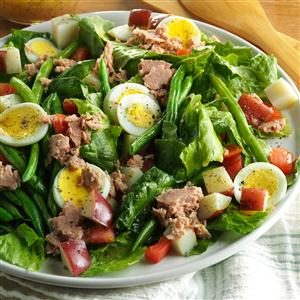 Quick Nicoise Salad Recipe