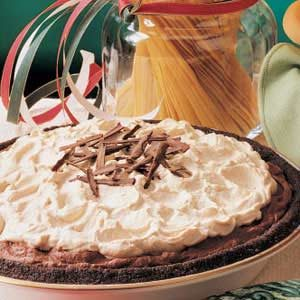 Mocha Mousse Pie Recipe