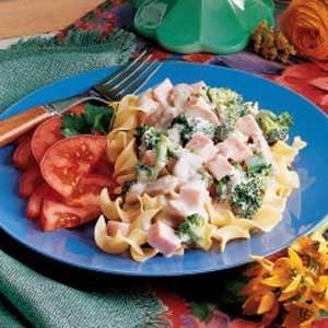 Broccoli Ham Stroganoff Recipe