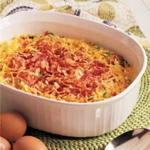 Hash Brown Egg Dish Recipe