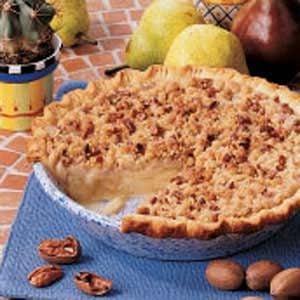 Ginger Pear Pie Recipe