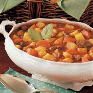 Autumn Vegetable Beef Stew Recipe