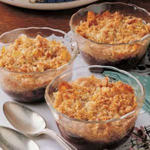 Country Plum Crumble