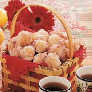 Applesauce Drop Doughnuts