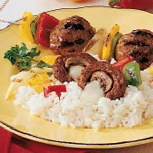 Surprise Meatball Skewers Recipe