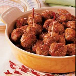 Sweet-Hot Sausage Meatballs Recipe