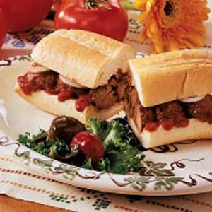 Meatball Lover's Sandwich