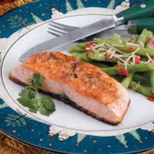 Coriander Salmon Recipe
